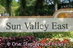 Sun Valley East community sign